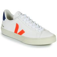 Topánky Nízke tenisky Veja CAMPO Biela / Oranžová / Modrá
