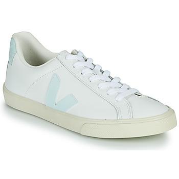 Topánky Ženy Nízke tenisky Veja ESPLAR LOGO Biela / Modrá