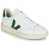 Topánky Nízke tenisky Veja V-12 Biela / Zelená