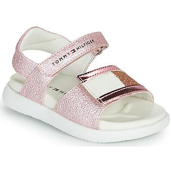Topánky Dievčatá Sandále Tommy Hilfiger EMIA Ružová