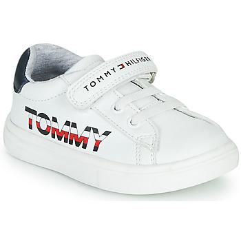 Topánky Deti Nízke tenisky Tommy Hilfiger MARILO Biela