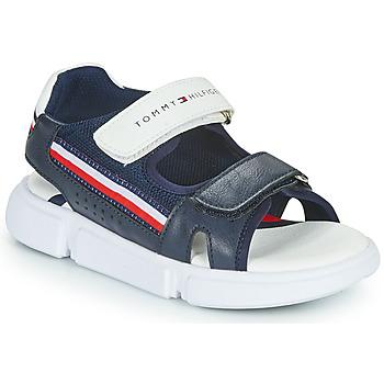 Topánky Deti Sandále Tommy Hilfiger TIFFOU Modrá