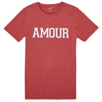 Oblečenie Dievčatá Tričká s krátkym rukávom Name it NKFTHULIPPA Červená
