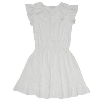 Oblečenie Dievčatá Krátke šaty Name it NKFDORITA Biela