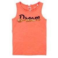 Oblečenie Dievčatá Tielka a tričká bez rukávov Name it NKFFASAI Koralová