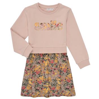 Oblečenie Dievčatá Krátke šaty Name it NMFBADA Šedá