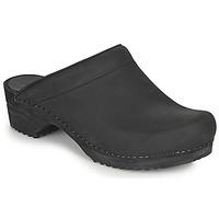 Topánky Ženy Nazuvky Sanita CHRISSY Čierna