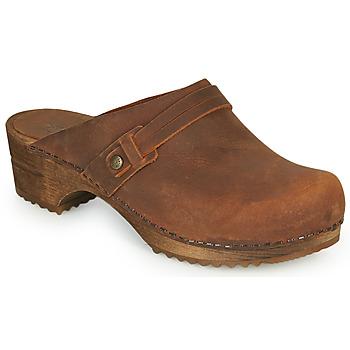 Topánky Ženy Nazuvky Sanita URSANA Hnedá