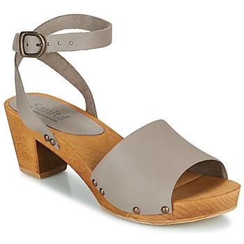 Topánky Ženy Sandále Sanita YARA Šedá