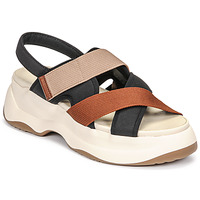 Topánky Ženy Sandále Vagabond Shoemakers ESSY Biela / Červená hrdzavá / Čierna