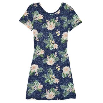 Oblečenie Dievčatá Krátke šaty Roxy THE CLOUDS Viacfarebná