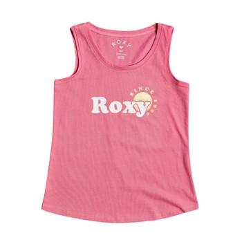 Oblečenie Dievčatá Tielka a tričká bez rukávov Roxy THERE IS LIFE FOIL Ružová