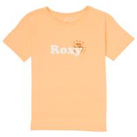 Oblečenie Dievčatá Tričká s krátkym rukávom Roxy DAY AND NIGHT FOIL Ružová