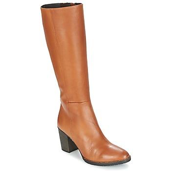 Topánky Ženy Čižmy do mesta Betty London ISME Ťavia hnedá