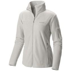 Oblečenie Ženy Flísové mikiny Columbia Fast Trek II Jacket Biela