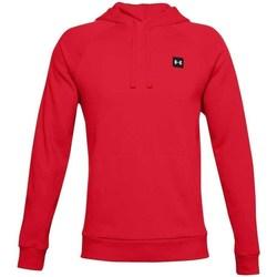 Oblečenie Muži Mikiny Under Armour Rival Fleece Hoodie Červená