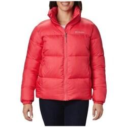 Oblečenie Ženy Vyteplené bundy Columbia Puffect Jacket Červená