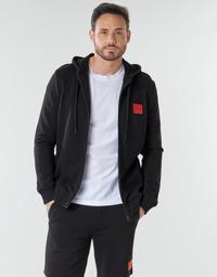 Oblečenie Muži Mikiny HUGO DAPLE Čierna