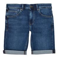 Oblečenie Chlapci Šortky a bermudy Teddy Smith SCOTTY 3 Modrá