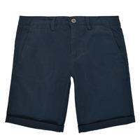Oblečenie Chlapci Šortky a bermudy Teddy Smith SHORT CHINO Námornícka modrá