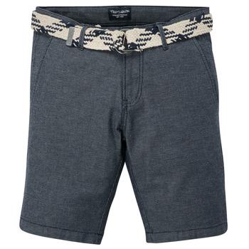 Oblečenie Chlapci Šortky a bermudy Teddy Smith STATON CHINO Námornícka modrá