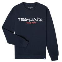 Oblečenie Chlapci Mikiny Teddy Smith S-MICKE Námornícka modrá