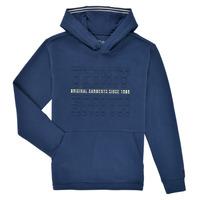 Oblečenie Chlapci Mikiny Teddy Smith S-RUN HOODY Námornícka modrá