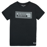Oblečenie Chlapci Tričká s krátkym rukávom Teddy Smith T-VANY Čierna