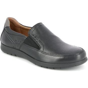 Topánky Muži Mokasíny Grunland SC4449 čierna
