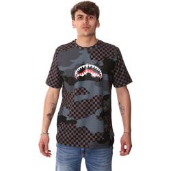 Oblečenie Muži Tričká s krátkym rukávom Sprayground SP01820BLA čierna