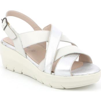 Topánky Ženy Sandále Grunland SA1877 Biely