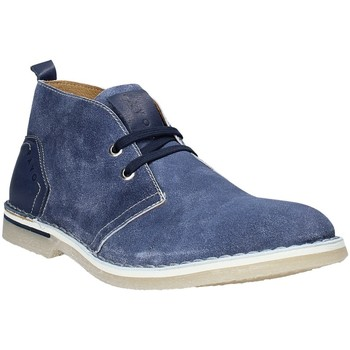 Topánky Muži Polokozačky Rogers BK 61 Modrá