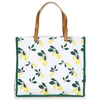 Tašky Ženy Veľké nákupné tašky  Petite Mendigote CLEA LEMON Biela