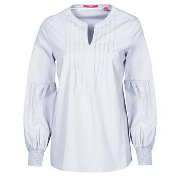 Oblečenie Ženy Blúzky S.Oliver 14-1Q1-11-4016-48W6 Tmavá fialová