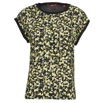 Oblečenie Ženy Blúzky S.Oliver 14-1Q1-32-7164-99B0 Čierna / Viacfarebná
