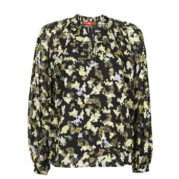 Oblečenie Ženy Blúzky S.Oliver 14-1Q1-11-4082-99A1 Čierna / Viacfarebná