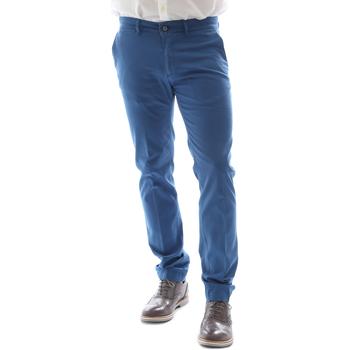 Oblečenie Muži Nohavice Chinos a Carrot Sei3sei 6DAYTONA E1649 Modrá