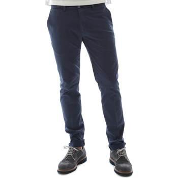 Oblečenie Muži Nohavice Chinos a Carrot Sei3sei 6OYSTER E1669 Modrá
