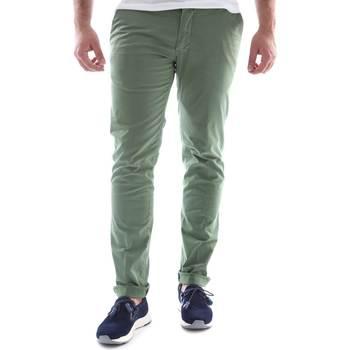 Oblečenie Muži Nohavice Chinos a Carrot Sei3sei 6OYSTER E1648 Zelená