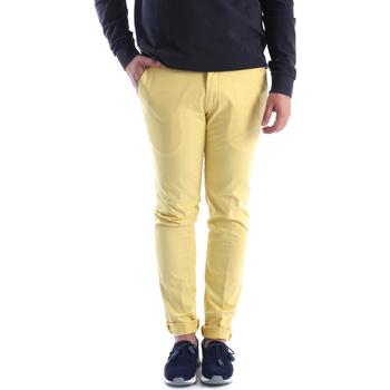 Oblečenie Muži Nohavice Chinos a Carrot Sei3sei 6OYSTER E1648 žltá