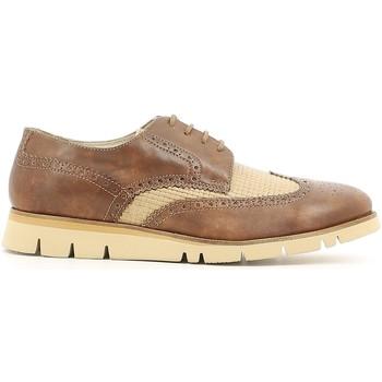 Topánky Muži Derbie Lion 20942 Hnedá