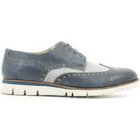Topánky Muži Derbie Lion 20942 Modrá