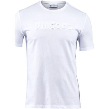 Oblečenie Muži Tričká s krátkym rukávom Lumberjack CM60343 001 508 Biely