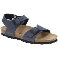 Topánky Chlapci Sandále Grunland SB0901 Modrá