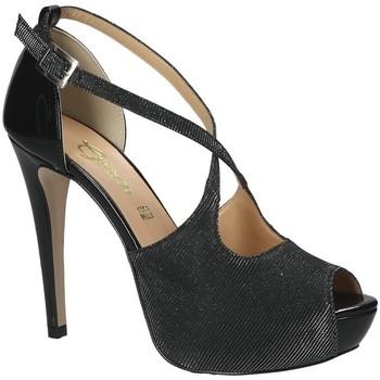 Topánky Ženy Sandále Grace Shoes 1552 čierna