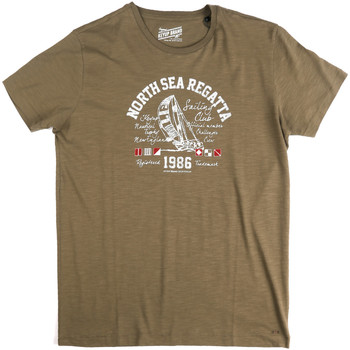 Oblečenie Muži Tričká s krátkym rukávom Key Up 2G78S 0001 Zelená