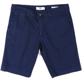 Oblečenie Muži Šortky a bermudy Sei3sei PZV132 8137 Modrá