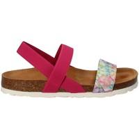 Topánky Dievčatá Sandále Bamboo BAM-11 Ružová