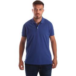 Oblečenie Muži Polokošele s krátkym rukávom Navigare NV82086 Modrá