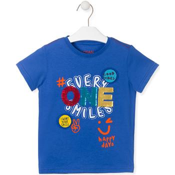 Oblečenie Deti Tričká s krátkym rukávom Losan 015-1032AL Modrá